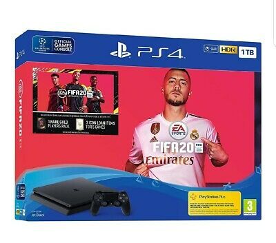 Sony Playstation PS4 Pro 1TB Console & FIFA 20 Bundle - Brand New - EU SPEC