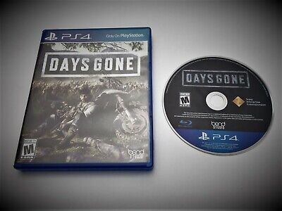 Days Gone - 2019 Blu-Ray - Purchased in USA - Sony PS4 Playstation 4