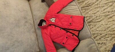 Sweet Millie Girls Quilted Coat Age 5 Years