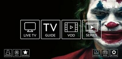 12 Month Iptv Subscription With Full Support TRIAL ONLY