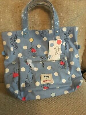 Limited edition Cath Kidston X Disney Winnie The Pooh Button Spot Reversible Cro