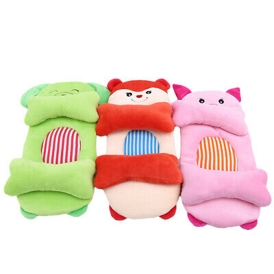 Infant Baby Soft Cotton Pillow Newborn Prevent Flat Head Anti Support Shaping MA