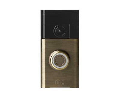Brand New Ring Wi-Fi Enabled Video Doorbell - Antique Brass