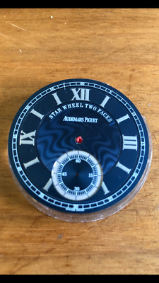 Audemars Piguet Original Blue Pocket Watch Dial Star Wheel Two Faces