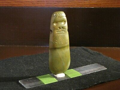 Pre Columbian, Jade, Costa Rican, Atlantic Watershed, Choice Axe God, + 200 600