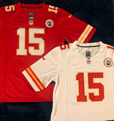 Patrick Mahomes Vapor Limited #15 Kansas City Chiefs RED / WHITE Stitched Jersey