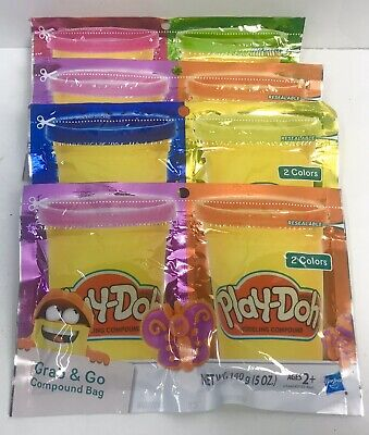 Play Doh Grab 'n Go Modeling Compound Bag 6 Colors (Pack Of 4 Assorted)