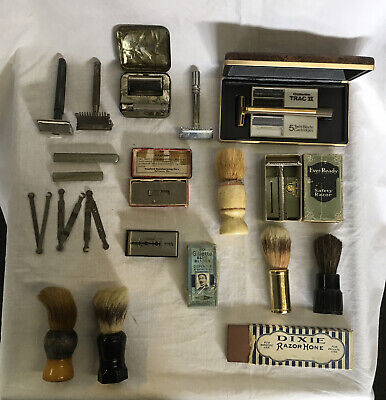 Big Lot 2 Pictures Of Razors Blades Razor Strop And More
