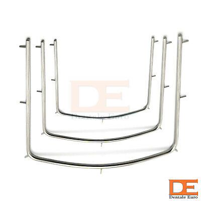 Dental Hand Instrument Rubber Dam Frame Small Medium Large Tooth Care Instrument