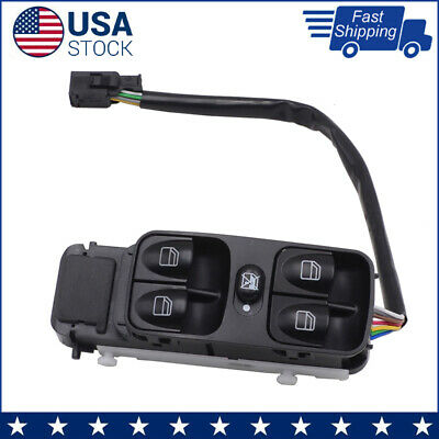 Master Power Window Switch Front Left For MERCEDES-BENZ 2002-2017 4638202210 New