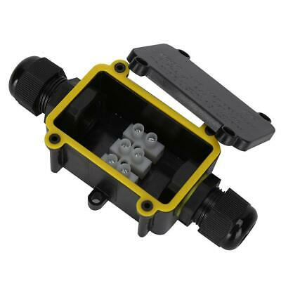 Waterproof ABS Electronic Project Enclosure Plastic Case Screw Junction Box TOP