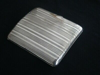 Good Quality, Vintage Art Deco Silver Card Case, European, Dutch, Netherlands