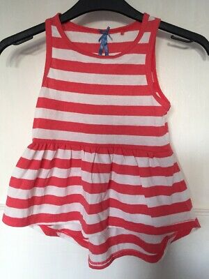 NEXT 2 Pack BNWT Girls Vest Tops 💖 Age 6 Years Floral & Striped