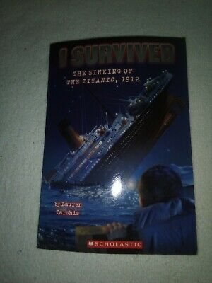 Set of 4 I Survived book series by Lauren Tarshis...