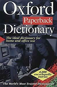 The Oxford Paperback Dictionary (French Edition), , Used; Good Book
