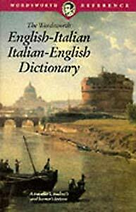 The Wordsworth Italian Dictionary (Wordsworth Reference), , Used; Good Book