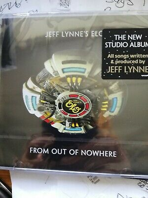 Jeff Lynne's ELO From Out of Nowhere CD Album SEALED