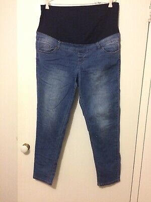 Anko Maternity Size 16 Blue Jeans