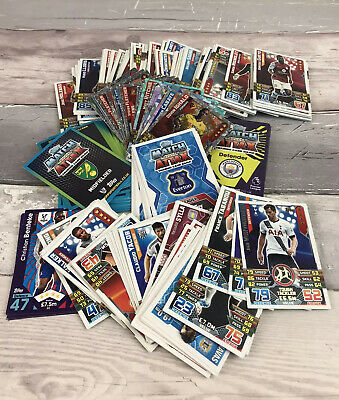 240 Topps Football Match Attax Cards Bundle Job Lot Trading Cards