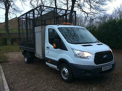 Ford Transit 350 single cab cage tipper 2016 65 reg