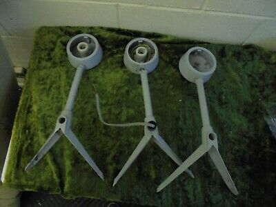 3 Vintage wall mounted Coughtrie lights / lamps