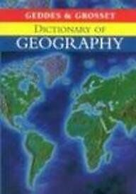 Dictionary of Geography, , Used; Good Book