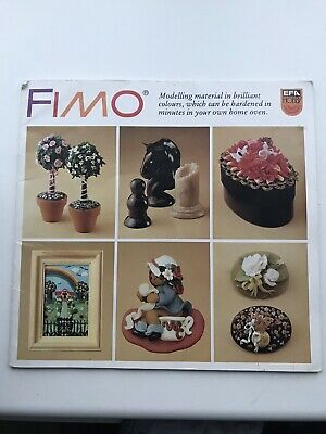 Fimo Craft Book Modelling in brilliant colours, book, rare, hard to find