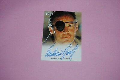 trading card lost archives rittenhouse autograph andrew divoff