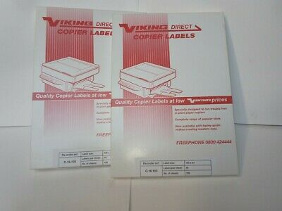 Address Labels White A4 Sheets Sticky Self Adhesive for Inkjet / Laser Printer,