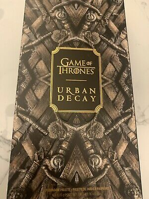 AUTHENTIC! Urban Decay Game Of Thrones Eyeshadow Palette - New in Box