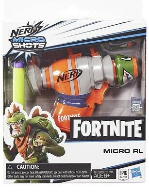 Nerf Fortnite RL Nerf MicroShots Dart-Firing Toy Blaster (IN STOCK NOW !!!)