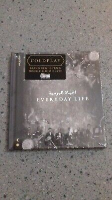 COLDPLAY EVERYDAY LIFE CD ALBUM (New Release November 22nd 2019)  NEW