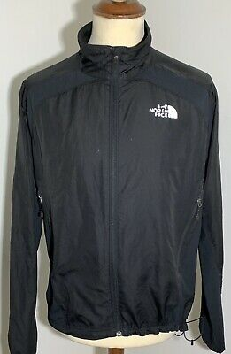 THE NORTH FACE ladies black lightweight zip up jacket A1 condition XL/TG