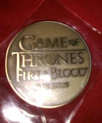 Game Of Thrones Fire & Blood Slot Game Token Coin HBO Aristocrat