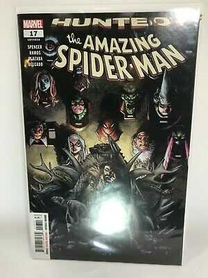 AMAZING SPIDERMAN 17 vol 5 BLANK FOR SKETCH VARIANT HUNTED PART 1 NM
