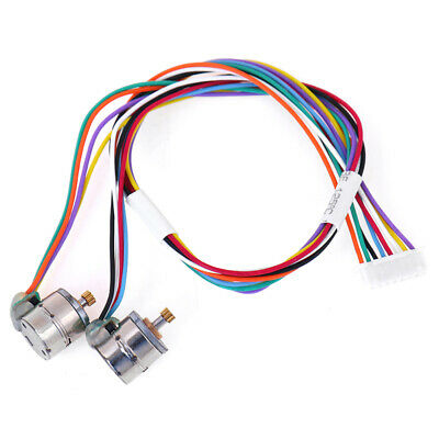 1set New 2 Phase 4 Wire 8MM Miniature Stepper Motor Micro Stepping Moto|