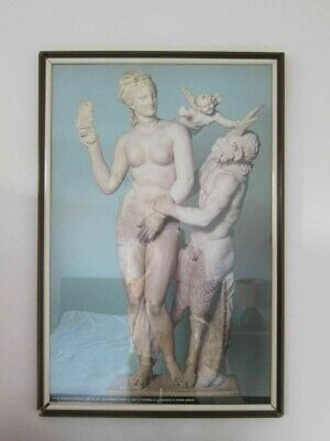 statue aphrodite and pan athens greek sculpture picture no18 print