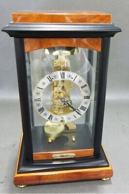 Franz Hermle Mechanical Mantel Skeleton Clock