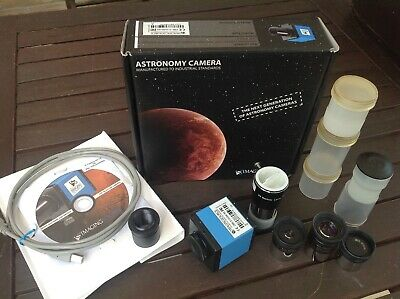 CAMERA ASTRONOMICA IMAGING SOURCE DBK21AU04.AS + 4 LENTI!! e ADATTATORE