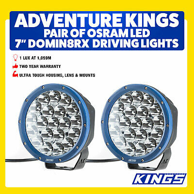 7inch Spotlights Driving Lights Work Spot LED 4WD Camping Offroad Car UTE