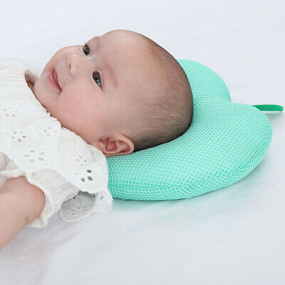 Newborn Baby Pillow Infant Anti Flat Head Cushion for Crib Bed Neck-Support BS