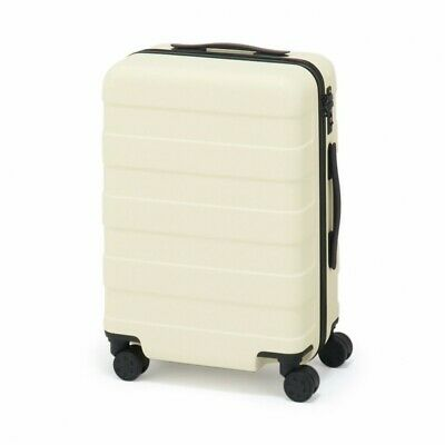 MUJI Suitcase Bar height adjusted Hard carry case 36L Ivory stopper ToGO MoMA