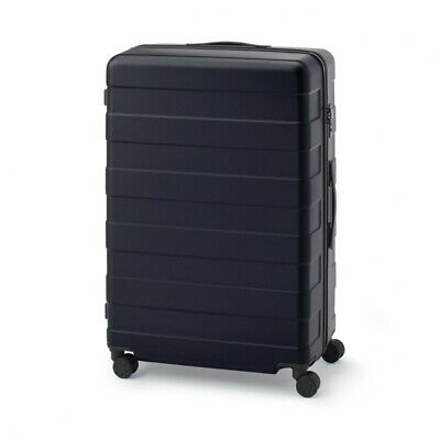 MUJI Suitcase Bar height adjusted Hard carry case 105L Black stopper ToGO MoMA