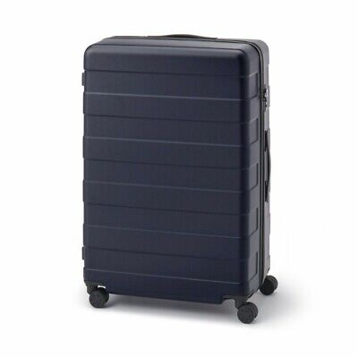 MUJI Suitcase Bar height adjusted Hard carry case 105LNavy stopper ToGO MoMA