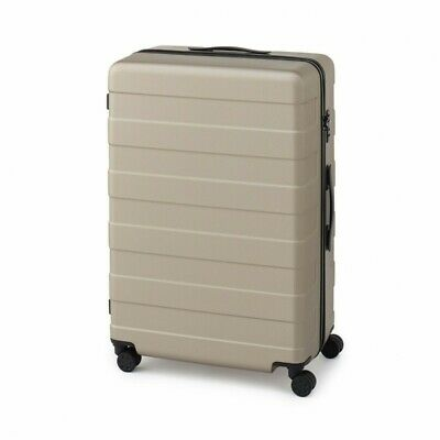MUJI Suitcase Bar height adjusted Hard carry case 105L Beige stopper ToGO MoMA