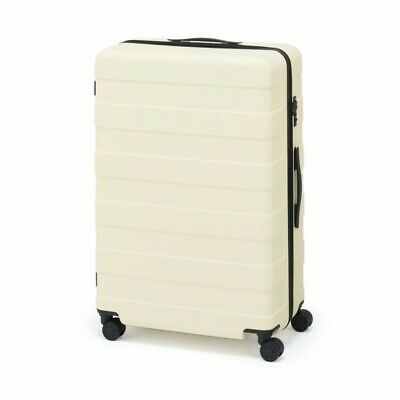 MUJI Suitcase Bar height adjusted Hard carry case 105L Ivory stopper ToGO MoMA