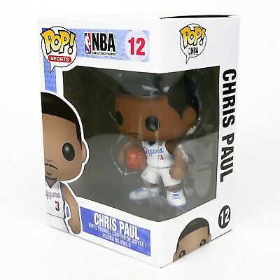Funko Pop Sports NBA #12 LA Clippers Chris Paul + Protector Vaulted Retired Rare