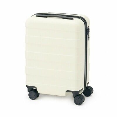 MUJI Suitcase Bar height adjusted Hard carry case 20L Ivory stopper ToGO MoMA