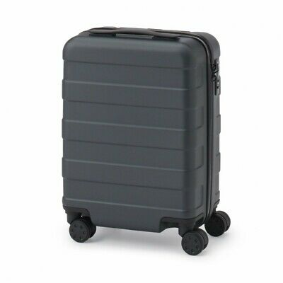 MUJI Suitcase Bar height adjusted Hard carry case 20L Dark Gray stopper ToGO