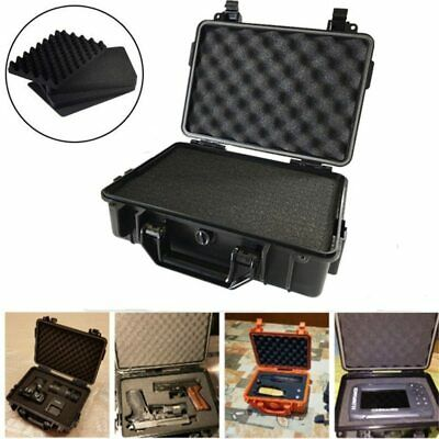 Tactical Safety Case Tool Box Waterproof ABS Plastic Outdoor Dry Sealed Storage